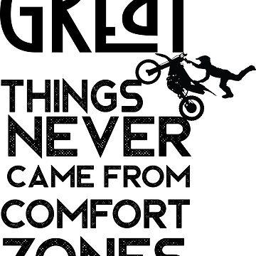 beautiful slogan of life with Motocross Bike Aerial Stunt by kartickdutta101