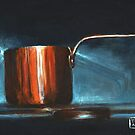 Copper Pot Study by Anna Tomka
