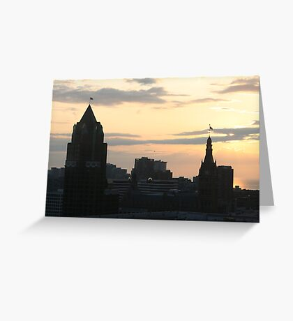 Good Morning Milwaukee Greeting Card