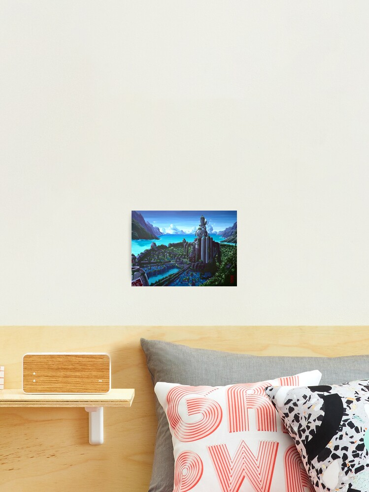 500 Years Later Final Fantasy Vii Fan Art Photographic Print
