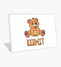 Kermit Bear Mug Laptop Skin