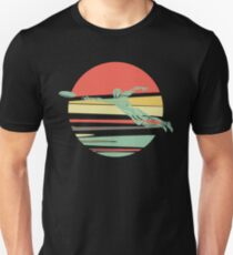 Retro Frisbee for the Ultimate Frisbee Player Unisex T-Shirt
