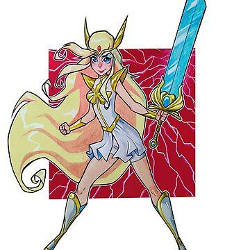 Princess of power by mavisshelton