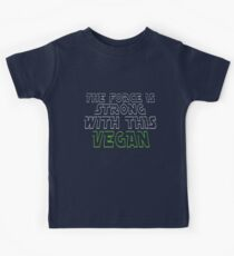 The Force Is Strong With This Vegan Kids Tee