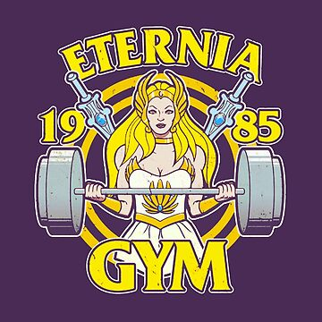 She-Ra Workout 1985 by mavisshelton