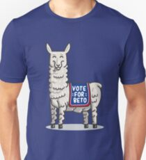 Vote For Beto Senate Midterm election cute Kids Llama T-Shirt Unisex T-Shirt