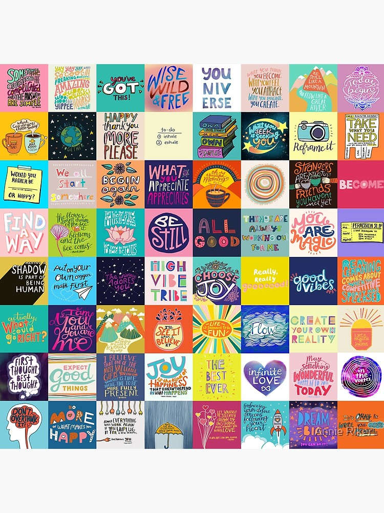 Positivity Patchwork by annieriker