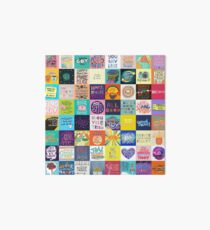 Positivity Patchwork Art Board
