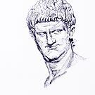 Nero BIG (Roman Emperor) (Series Ancient Rome) by Alessandro Nesci