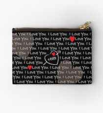 Love you 4ever Studio Pouch