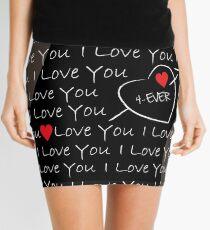 Love you 4ever Mini Skirt