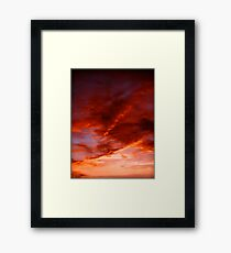 Brilliant Sky Framed Print