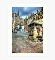 Grassmarket - Edinburgh Kunstdruck