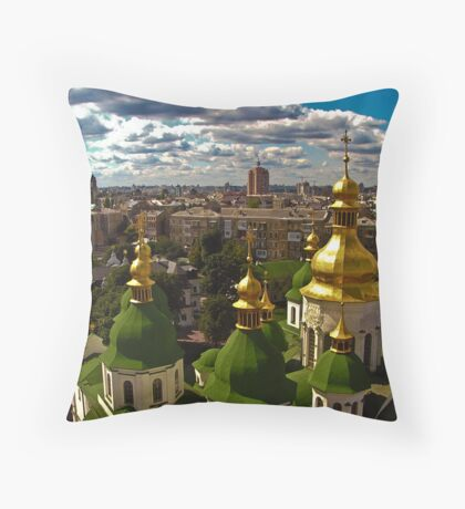 Domes Throw Pillow