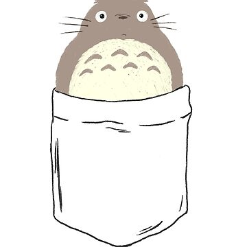 Pocket Totoro by huguette-v