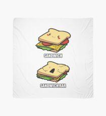 Cute Sandwich Nerd Scarf