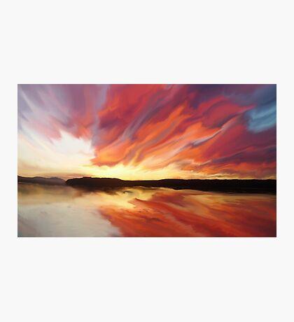 Sunset art Photographic Print