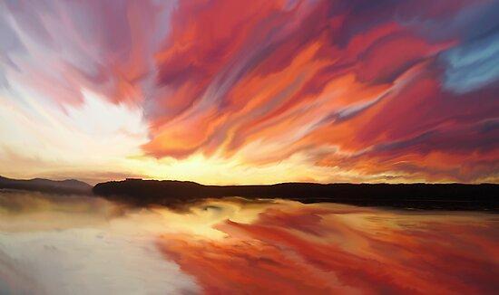 Sunset art by JBJart