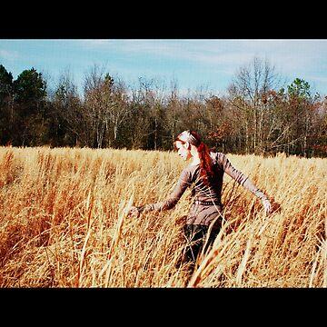 Wind in the Wheat by Glitterfest