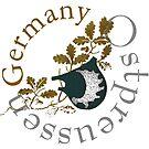 Ostpreussen... East Prussia...moose antler heritage symbol by edsimoneit