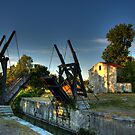 The Van Gogh Bridge, Arles, France by Beth A