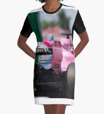 Formula 1  Graphic T-Shirt Dress