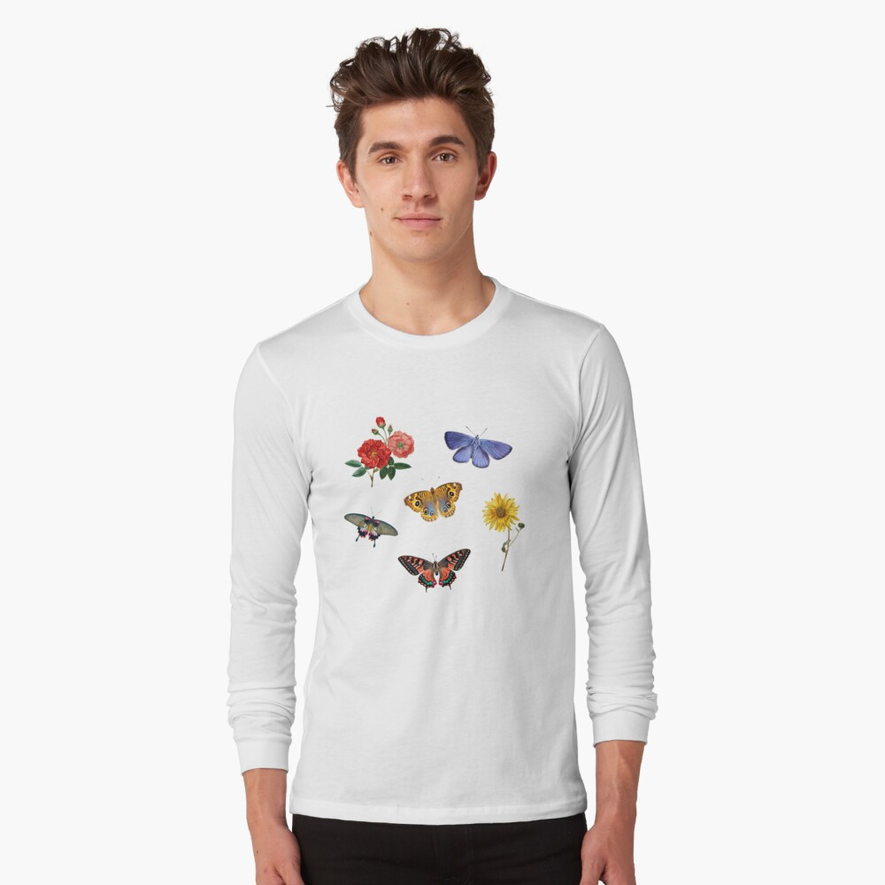Summertime Sticker Set Long Sleeve T-Shirt