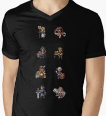 OCTOPATH TRAVELERS Men's V-Neck T-Shirt