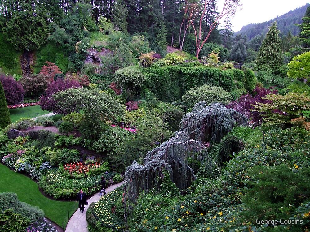 Sunken Garden No.2 by George Cousins