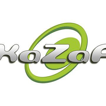 KaZaA - P2P - 90er Jahre Retro-Logo von JTNC