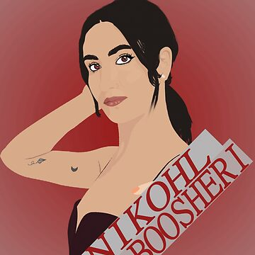 Nikohl Boosheri Drawing by JaimeMAddicted