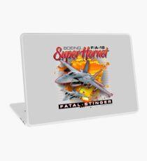 Boeing F/A-18 Super Hornet Fatal Stinger Laptop Skin