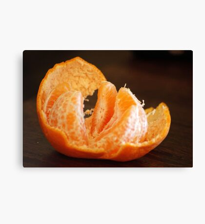 TANGERINE - one of my favorites! Canvas Print