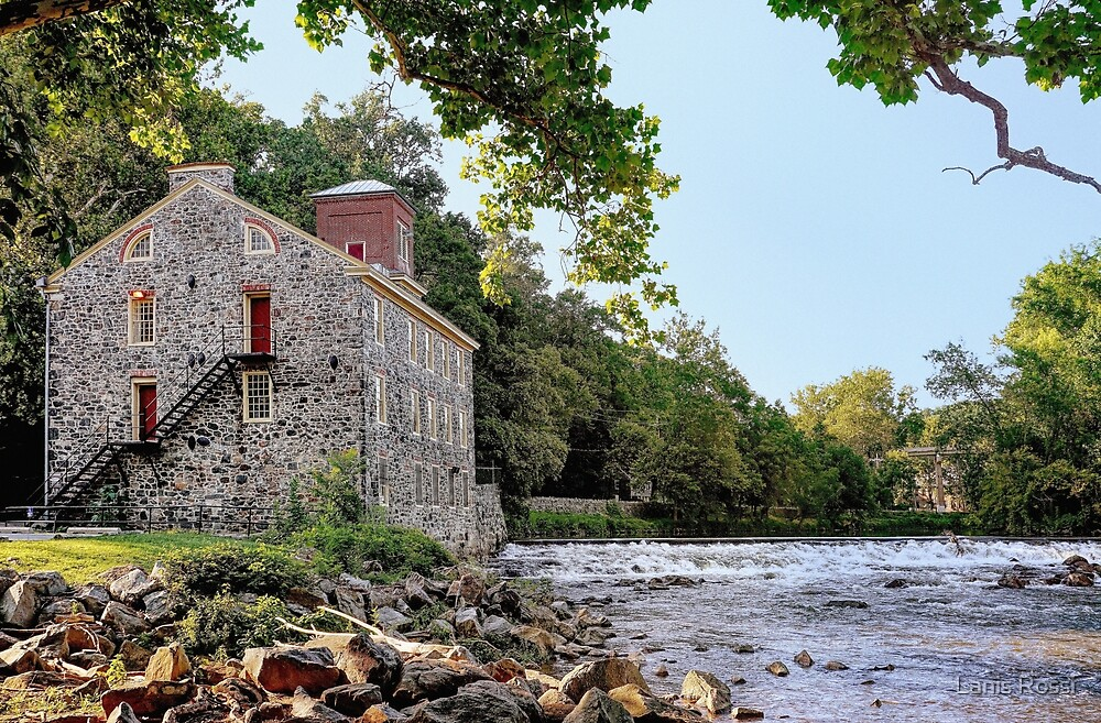 Old Breck's Mill  by Lanis Rossi