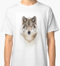 Portrait of a Wolf - Timber Wolf Classic T-Shirt