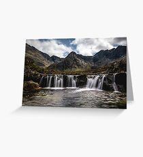 Fairy Pools, Isle of Skye Greeting Card