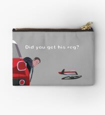 Car Share Zipper Pouch