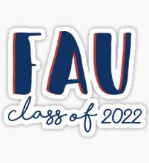 florida atlantic university Sticker