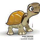 Galapagos Giant Tortoise by makikelly