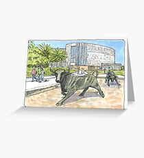 University of South Florida Student Center Greeting Card