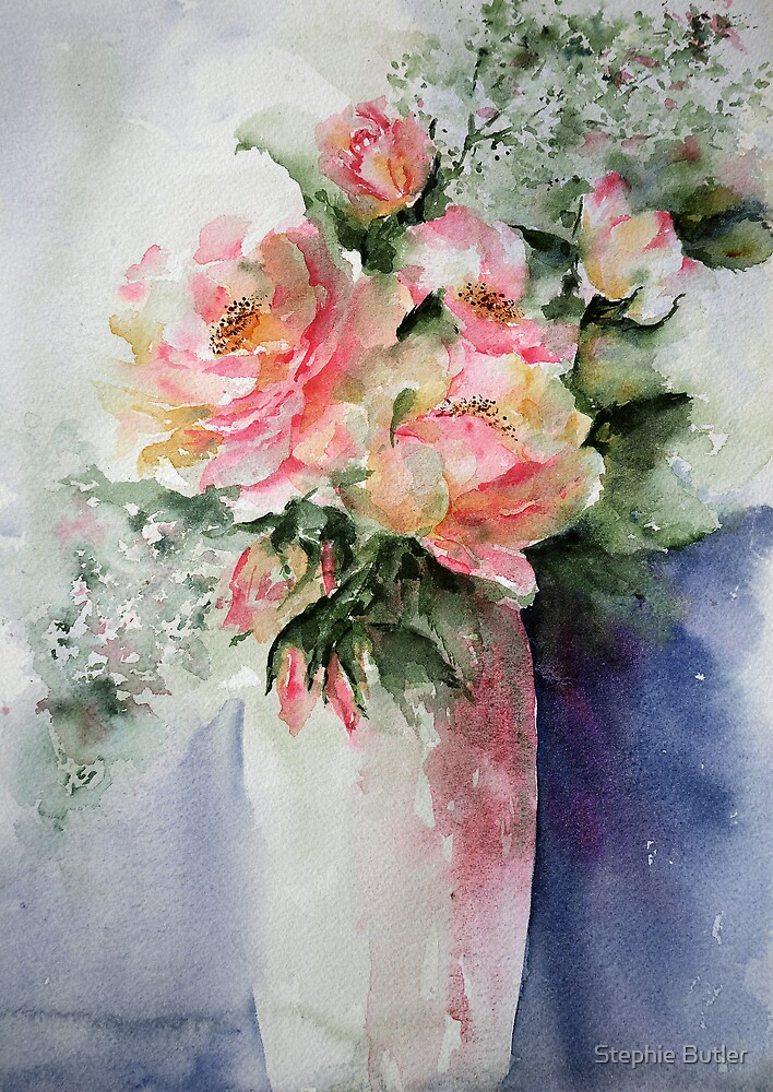 French Roses...... by Stephie Butler