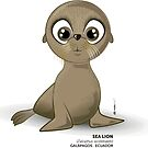 Galapagos Sea Lion  by makikelly