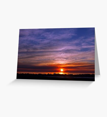 Applecross Sunset  Greeting Card