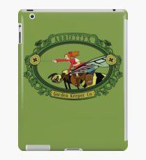 Arrietty's garden keeper co. iPad Case/Skin