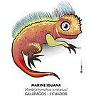 Galapagos Marine Iguana by makikelly