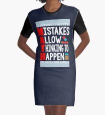 Funny I'm A Math Teacher Shirt Appreciation Gift Math Lover Graphic T-Shirt Dress