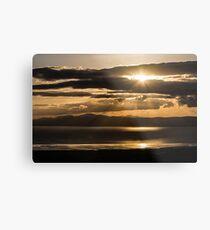 Donegal Sunset Metal Print
