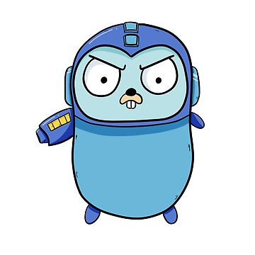 Mega Gopher - Golang by maestromakhan