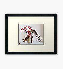 Ikebana-126 Framed Print