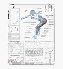 Good Morning - Exercise Diagram iPad Case/Skin